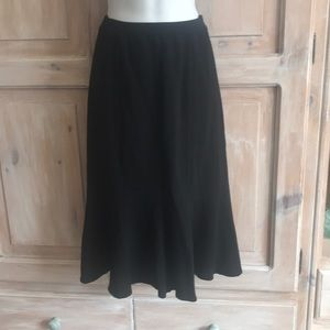Eileen Fisher Black Skirt Woman's Small